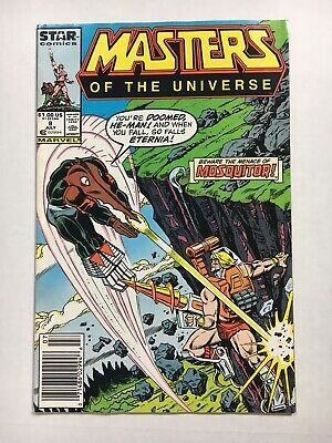 $9.99 • Buy Masters Of The Universe #8 Very Fine 1987 Marvel Comic Mosquitor