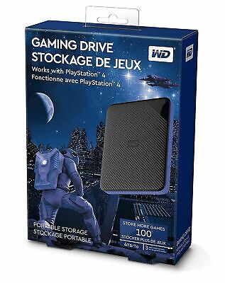 AU235 • Buy WD Gaming Drive Playstation 4 PS4 4TB USB 3.0 Portable Hard Drive BRAND NEW