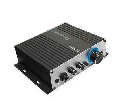 £25.14 • Buy New Technical Pro Class-T Stereo Mini Amplifier With Microphone & Headphone I/O