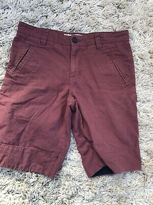 Mens/boys Twisted Soul Dark Red Shorts Size 30W (167) • 1.79£