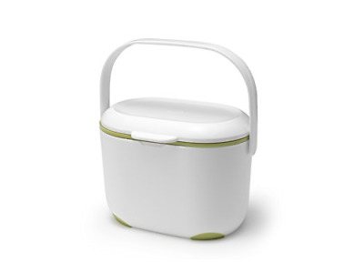 Mini Food Waste Bin Addis 2.5 L Kitchen Compost Caddy Small Removable Lid • 10.63£