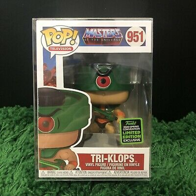 $25.99 • Buy Funko Pop! Masters OF The Universe TRI-KLOPS  # 951 ECCC Exclusive He Man MOTU