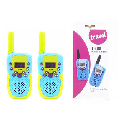 $ CDN37.99 • Buy 2 Pack 22 Channels 2 Way Radio Walkie Talkies Toys With Flashlight