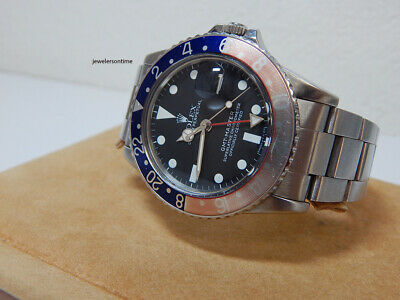 $ CDN17172.25 • Buy Vintage 1985 Rolex GMT Master 16750  8  Million Series