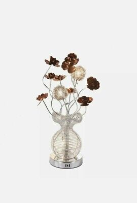 Innoteck Modern LED Flower Vase Aluminium Wired Large Table/ Desk/ Floor Lamp  • 25.99£