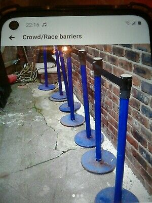 Crowd Control Barriers • 0.01£