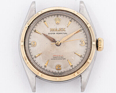 $ CDN4393.55 • Buy Rare Rolex 6085 Big Bubbleback With RED Officially Writing On Dial!