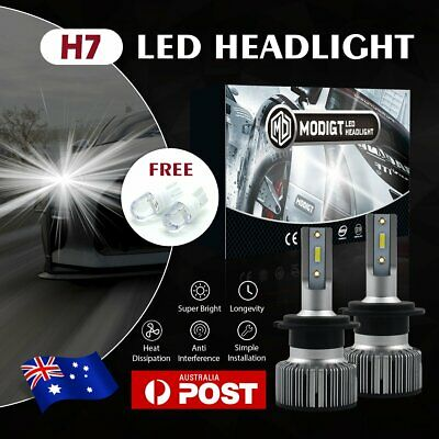 AU26.88 • Buy Philips H7 980W 720000LM LED Headlight Kit Driving High Or Low Light Lamp Globes