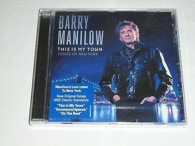 BARRY MANILOW This Is My Town: Songs Of New York CD NEW & SEALED • 2.35£