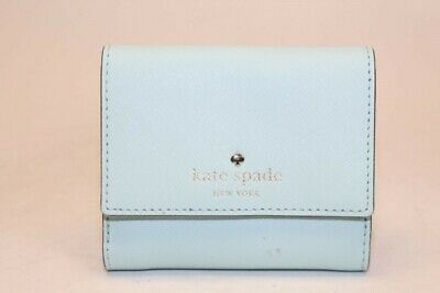 $ CDN7.33 • Buy Kate Spade New York Womens Saffiano Leather Bi-Fold Wallet With Snap Coin Purse