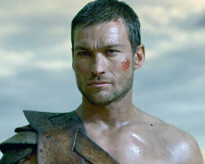ANDY WHITFIELD Spartacus SHIRTLESS NEW  8X10 GLOSSY PHOTO ZBP 65 • 7.06£