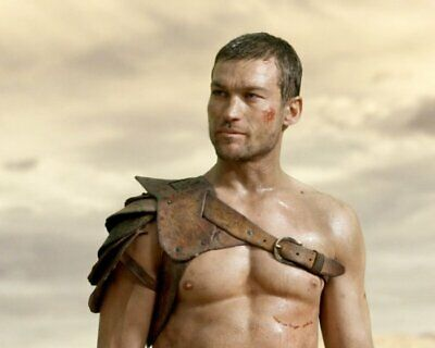 ANDY WHITFIELD Spartacus SHIRTLESS NEW  8X10 GLOSSY PHOTO ZBP 63 • 7.06£