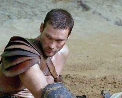 ANDY WHITFIELD Spartacus SHIRTLESS NEW  8X10 GLOSSY PHOTO ZBP 64 • 7.06£