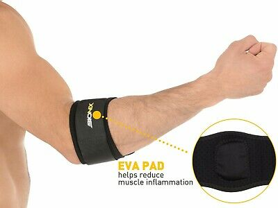Tennis Elbow Support Golfer's Strap Epicondylitis Brace Lateral Pain Syndrome • 4.30£
