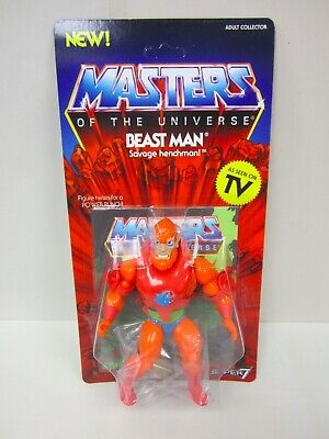 $27.95 • Buy 2019 Motu Vintage Collection Masters Of The Universe Super7 5.5  Beastman Moc