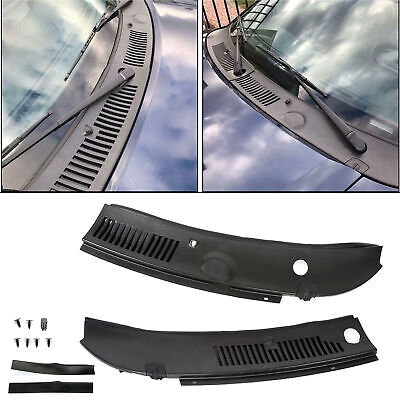 $31.90 • Buy New Windshield Wiper Cowl Vent Grille Panel Hood For 99-04 Ford Mustang