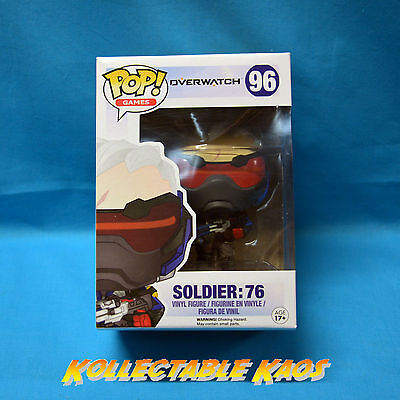 AU23 • Buy Overwatch - Soldier: 76 Pop! Vinyl