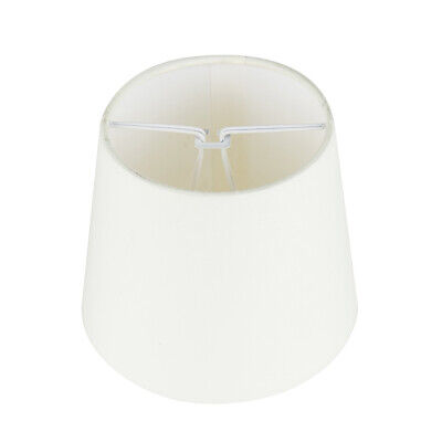 £6.99 • Buy Modern Pendant Light Shade Candle Clip Poly Cotton Cream Ceiling Pendant Shade