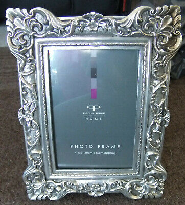 BEAUTIFULLY ORNATE ROCOCO PICTURE / PHOTO FRAME BY HOUSE OF FRASER 4x6  STANDING • 10£