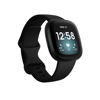 $ CDN306.62 • Buy Fitbit Versa 3 Health & Fitness Smartwatch With GPS