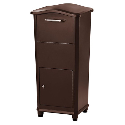 $249.48 • Buy Large Package Mailbox Parcel Drop Box Postal Post Locking Secure Hardware Home