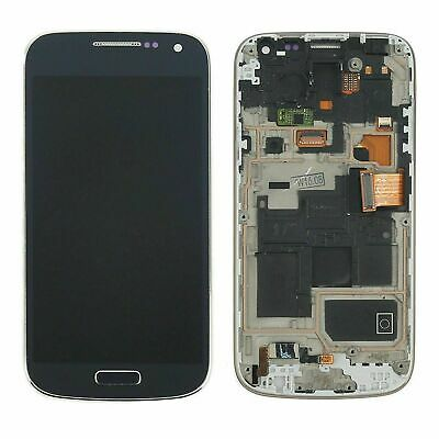 £32.99 • Buy LCD Touch Screen Digitizer Replacement + Frame For Samsung Galaxy S4 Mini I9195