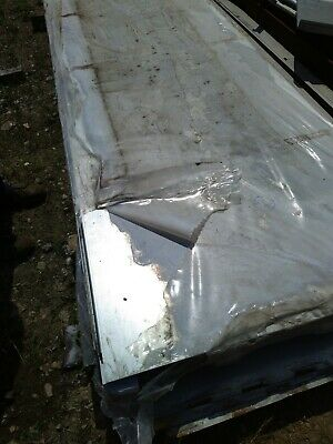 Galvanised Steel Sheets 3800mm X 1000mm 1 Folded Edge • 40£