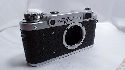 $59.99 • Buy FED 2 Vintage Russian Leica M39 Mount Camera BODY Only     0734