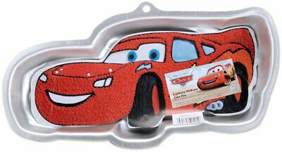 Wilton Aluminum Disney Lightning McQueen Cake Pan With Decorating Instructions • 15.26£