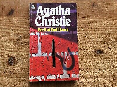 Peril At End House By Agatha Christie.Poirot.Fontana 1985. • 5£