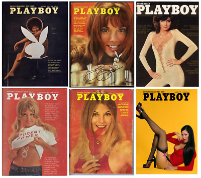 £4.50 • Buy VINTAGE PLAYBOY 1970's 70 Fashion Magazine Cover Print/poster A4/A3