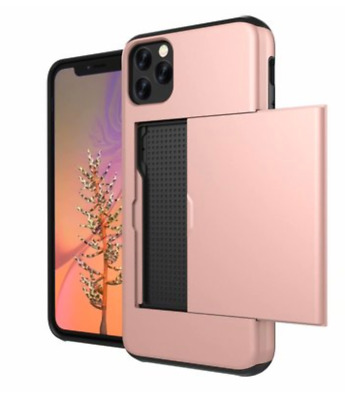 AU9.99 • Buy IPhone 11Pro Max 11Pro 11  Wallet Card Holder Shockproof Cover Case For Apple