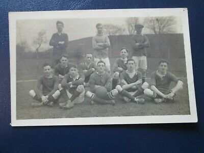 Social History Postcard Of Football Team (Unposted) • 2.99£