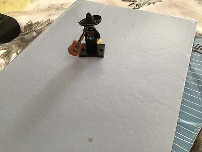 $ CDN12.26 • Buy Toy Lego Figure Mariachi Mexican Guitar And Sombrero Played With
