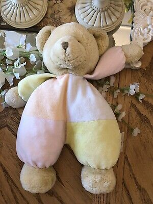 Mamas And Papas Teddy Bear Baby Soft Toy Comforter • 4.99£