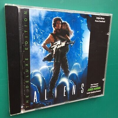 James Horner ALIENS Film Soundtrack Score DELUXE EDITION CD Varese Sarabande LSO • 35£