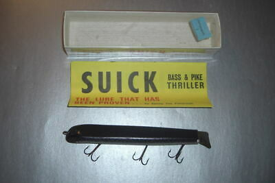 $ CDN13.32 • Buy Bass Size Suick Thriller In Box By Suick Lure Co. Of Wisconsin