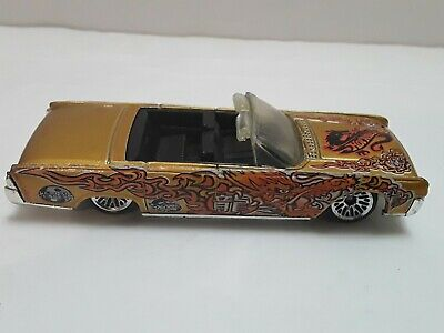 $7.99 • Buy Vintage 1999 1964 Lincoln Continental Hot Wheels Dragon Design Convertible