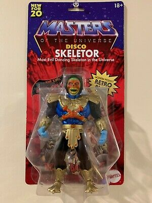 $39 • Buy Disco Skeletor MOTU Origins Custom Made Masters Of The Universe Walmart He-Man