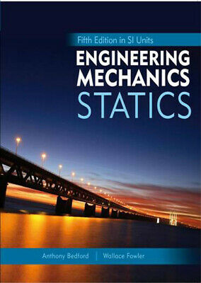 Engineering Mechanics: Statics, Fifth Edition In SI Units And Study Pack, Anth • 70.51£