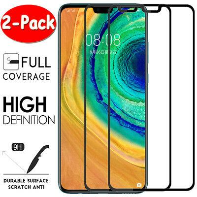 2X For Huawei Tempered Gorilla Glass Screen Protector Mate 20 P20 P30 Pro Lite • 3.69£