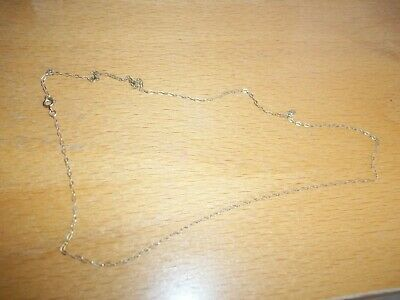 9 Ct Gold 16  Trace Chain • 14.99£