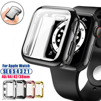 $ CDN3.27 • Buy Soft TPU Protective Case Screen Cover For Apple Watch Series 6 5 4 3 2 IWatch SE