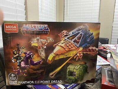 $60 • Buy Mega Construx Masters Of The Universe Panthor At Point Dread He-Man Ships Fast