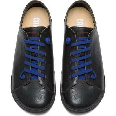 £89.99 • Buy Camper Peu Cami 100249 Mens Black Soft Leather Lace Up Shoes Trainers Size 7-12