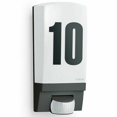 Steinel Outdoor Sensor Light L1 Black House Number Illuminated Lighting • 41.60£