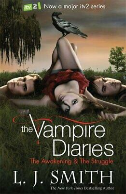 The Vampire Diaries: The Awakening & The Struggle, Books 1 & 2 By L.J. Smith • 9£