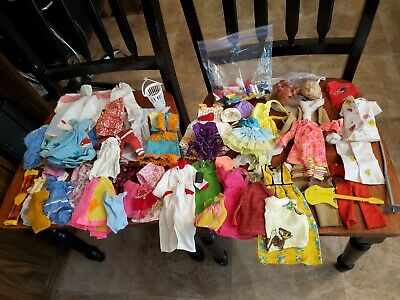 $ CDN16.67 • Buy Vintage Lot Of Barbie & Clone Clothes And Accessories 1960's & 70s Some Japan