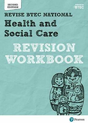£12.60 • Buy Revise BTEC National Health And Social Care Revision Workbook: Second Edition