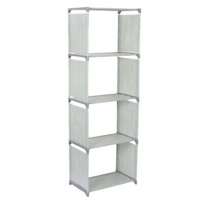 AU18.99 • Buy 4 Cube Storage Shelf Rack Bookcase Cabinet Organizer Bookshelf Book Display Unit